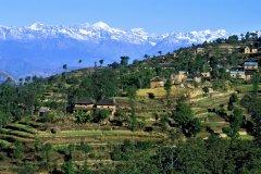 Vallée de Katmandou. (© HUGO CANABI - ICONOTEC)