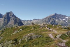 Randonnée à l'Aiguille des Posettes, près de Vallorcine (© Marité74 - Fotolia)