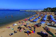 La plage de Saint-Aygulf à Fréjus (© Lawrence BANAHAN - Author's Image)
