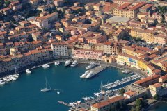 Vue aérienne sur le port de Portoferraio. (© stefano marinari - Shutterstock.com)