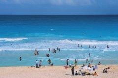 La plage de Cancun. (© Author's Image)