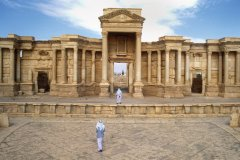 Amphithéâtre de Palmyre. (© Stevenallan - iStockphoto)