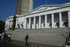 Le bâtiment de l'Asiatic Society of Mumbai. (© Pascal Mannaerts - www.parcheminsdailleurs.com)