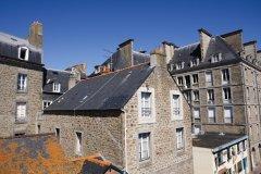 Les toits de Saint-Malo. (© Steve Faber)