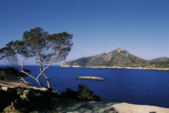 L'île de Sa Dragonera classée parc naturel. (© Hervé Bernard - Iconotec)