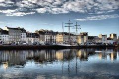 Le port de Cherbourg (© Ginette Creusson)