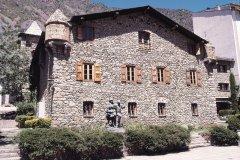 Maison des Vallées (Casa de la Vall), aujourd'hui siège du Conseil Général (© Ministère du Tourisme du Gouvernement d'Andorre)
