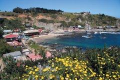 La jolie baie de Quintay, près de Valparaiso (© Arnaud BONNEFOY)