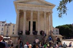 Maison Carrée. (© Office du tourisme Nîmes)