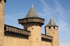 Le château comtal de Carcassonne (© Yan Even)
