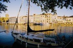 Bateau de plaisance à Agde (© VINCENT FORMICA)