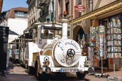 Petit train touristique à Plombieres. (© whyvision-JungC)