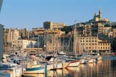 Vue du Vieux Port de Marseille (© TOM PEPEIRA - ICONOTEC)