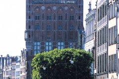 Rue Dlugi Targ et Hôtel de ville. (© S.Nicolas - Iconotec)