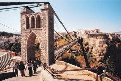 Pont suspendu de Sidi M'Cid. (© Sébastien CAILLEUX)