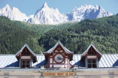 La gare de Chamonix - Mont-Blanc (© Trait2lumiere - iStockphoto.com)