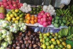 Le marché aux fruits. (© Sally Bataillard)