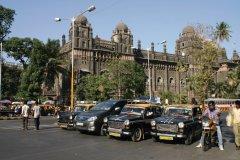 Poste centrale de Mumbai. (© Stéphan SZEREMETA)