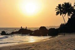Thottada Beach sur la côte des Malabars (© PATRICE ALCARAS)