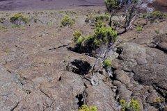 Lave cordée, piton de la Fournaise. (© Atamu RAHI - Iconotec)