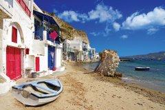 Le village de pêcheur de Milos. (© Freeartist - iStockphoto)