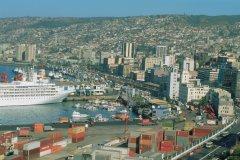Vue de Valparaiso (© H.Fougère - Iconotec)