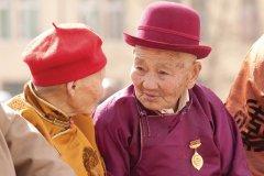 Personnes âgées à Oulan-Bator. (© Maxence Gorréguès)