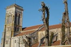 La basilique Sainte-Marie-Madeleine de Vézelay (© Julia Valentin)