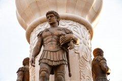 Détail de la statue d'Alexandre Le Grand. (© GK1982 - Shutterstock.com)