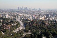 Vue panoramique sur Los Angeles. (© Stéphan SZEREMETA)