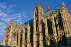 La cathédrale Saint-Étienne de Metz (© ERWAN LE PRUNNEC - ICONOTEC)