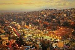 Les lumières de la ville d'Amman. (© Silverjohn - iStockphoto)