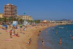 La plage de Fréjus (© Lawrence BANAHAN - Author's Image)