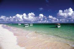 Playa Bavaro, longue plage bordée de cocotiers. (© Author's Image)