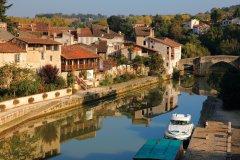 La vieille ville de Nérac au bord de la Baïse. (© Nicolas Thibaut)