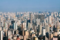 Vue aérienne de Sao Paulo (© Caio Pimenta/ SPTuris)