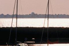 Voiliers à marée basse - La Baule (© PHOVOIR)