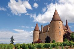 Le château de Corcelles (© Van Beets - iStockphoto.com)