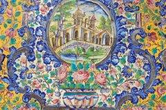 Décorations du Palais du Golestan. (© Massimo Pizzotti)