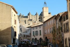La rue Trivalle - Carcassonne. (© Yan EVEN)