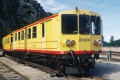 Le train jaune, patrimoine historique de la région (© Nicolas Rung - Author's Image)