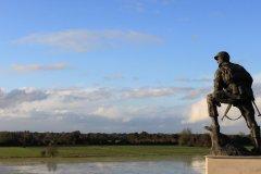 Monument Iron Mike, La Fière. (© Office de tourisme de la Baie du Cotentin)
