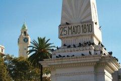 Monument de la Plaza de Mayo, en mémoire de la révolution argentine de 1810. (© Maxence Gorréguès)