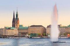 Vue sur Hambourg. (© Fabian Wentzel - iStockphoto)