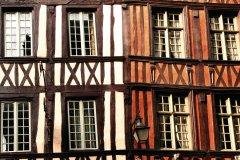 Façades de maisons à colombage à Rouen (© TMAX - Fotolia)