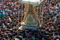 Le pèlerinage d'El Rocío réunit des milliers de personnes. (© Author's Image)