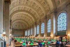 Bates Hall, Boston Public Library. (© Nagel Photography - Shutterstock.com)