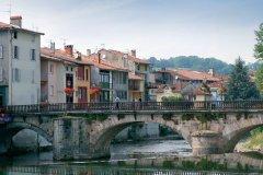 Maisons au bord du Salat - Saint-Girons (© PHOVOIR)