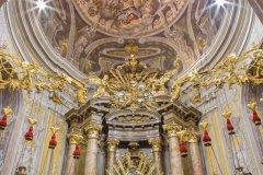 Intérieur de l'église de Saint-Nicolas, Trnava. (© sedmak)