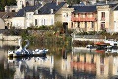 Le lac de Pierrefonds. (© Christophe Tellier)